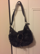 Fake Fur Purse in Bartlett, Illinois