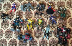 ACTION FIGURES x13, ASSORTED in Lakenheath, UK
