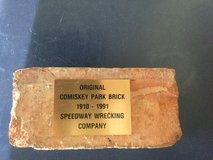 White Sox- old Comiskey Park brick in Plainfield, Illinois