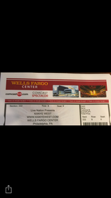 Kanye west ticket in Philadelphia, Pennsylvania