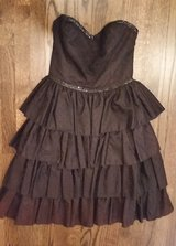 Dress - Black Strapless - Sequins - Formal/ Halloween/ Dressup in Wheaton, Illinois