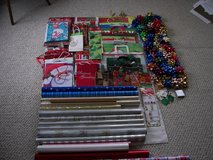Large Assortment XMAS Wrap, Bows, Boxes, Gift Bags in Joliet, Illinois