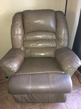 Leather Recliner in Temecula, California