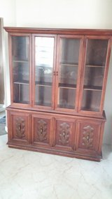 Solid wood cabinet in Chicago, Illinois
