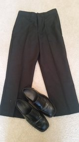 Chaps black pants elegant and shoes in Aurora, Illinois