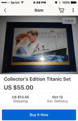 Titanic VHS Collector's Edition with book in Fairfield, California