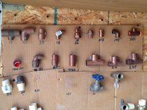 New Copper plumbing fittings various sizes in Fort Leonard Wood, Missouri