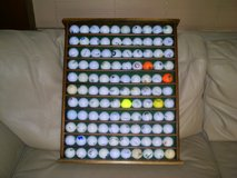 Golf Ball Display Case with Balls! in Okinawa, Japan