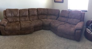 4 piece Dual Recliner Sectional in Temecula, California
