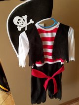Child's pirate costume in Morris, Illinois