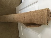 Burlap yardage for crafts sewing in Beaufort, South Carolina