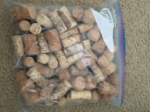 Bag of wine corks stoppers in Beaufort, South Carolina