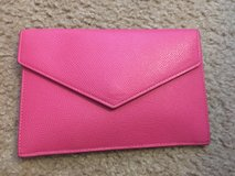 *REDUCED* Dooney and Bourke pink leather clutch and change purse ball wedding prom in Beaufort, South Carolina