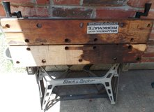 Vintage Black and Decker Workmate Bench in Conroe, Texas