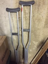 Crutches- adjustable in Naperville, Illinois