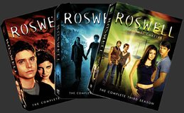 Roswell T.V. show (complete series) on DVD in Oceanside, California