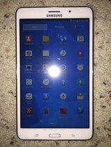 """Samsung 8GB white 7"""" android tablet T-230NU in Yucca Valley, California"""