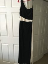 *REDUCED* Ralph Lauren black white formal one shoulder gown ball prom 6 in Beaufort, South Carolina