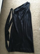 Banana Republic black silk 4 one shoulder sheath dress ball wedding prom *REDUCED* in Beaufort, South Carolina