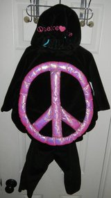 Amy Coe Peace Sign Love Bug Toddler Girls Halloween Costume Set 18-24 Months in Kingwood, Texas