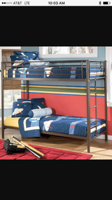 Bunk bed in Dover AFB, Delaware