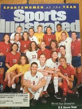 Sportswomen of the Year -1999- U.S. Soccer team in Lockport, Illinois