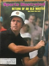 Gary Player Sports Illustrated - April 22, 1974 in St. Charles, Illinois
