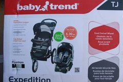 New jogging stroller with car seat in Camp Pendleton, California