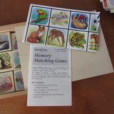 Brand New Wood Memory Matching Game in Morris, Illinois