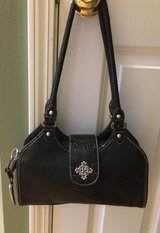 Rosetta Black Purse-EUC in Naperville, Illinois