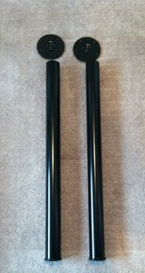 1 pair Black Metal Legs in Bolingbrook, Illinois