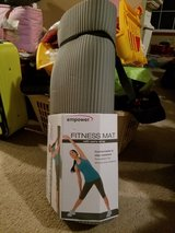Empower Fitness Mat with carry strap new in New Lenox, Illinois