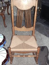 wicker seat rocking chair in 29 Palms, California