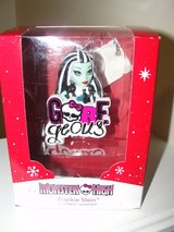 "MONSTER HIGH ""FRANKIE STEIN"" CHRISTMAS ORNAMENT AMERICAN GREETINGS in Camp Lejeune, North Carolina"