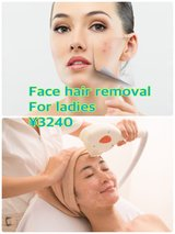 Face hair removal for ladies in Okinawa, Japan