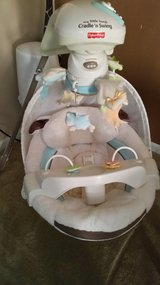 Little lamb baby swing in Oswego, Illinois