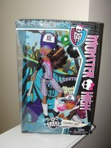 """""""MONSTER HIGH GHOUL SPORTS CLAWDEEN WOLF"""" DOLL in Camp Lejeune, North Carolina"""