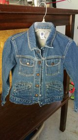 GAP  jean jacket Size large (girls) in Leesville, Louisiana