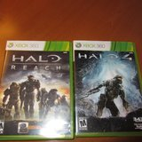 Xbox 360 Games Halo Reach & Halo 4 in Chicago, Illinois