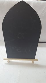 "Halloween Chalkboard Easel 8"" x 12"" in Houston, Texas"