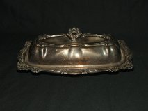 Vintage Empress Silverplate Butter Dish 3 Pc in Naperville, Illinois