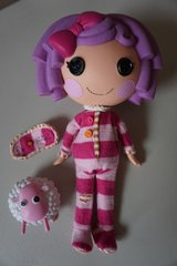 Lalaloopsy Doll Original 2009 Full Size Pillow Featherbed in Naperville, Illinois
