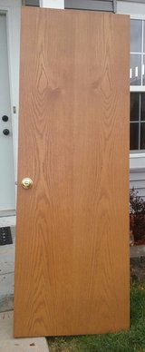 OAK DOOR  28X80 in Batavia, Illinois