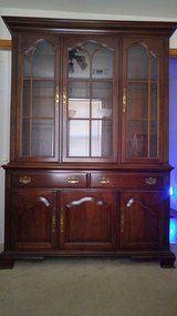 china cabinet in Fort Leavenworth, Kansas