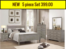 NEW Queen bedroom set,299.00 in Cherry Point, North Carolina