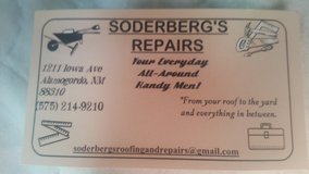 Soderberg's Roofing and Repairs in Alamogordo, New Mexico