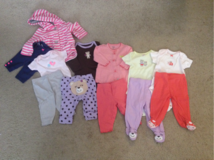 3 month girl outfits in Glendale Heights, Illinois