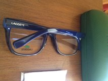 Lacoste blue in Fort Bliss, Texas