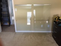 Shower door set in Hemet, California