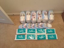 Pampers Pull-ups size 3T/4T & Pampers wipes in Temecula, California